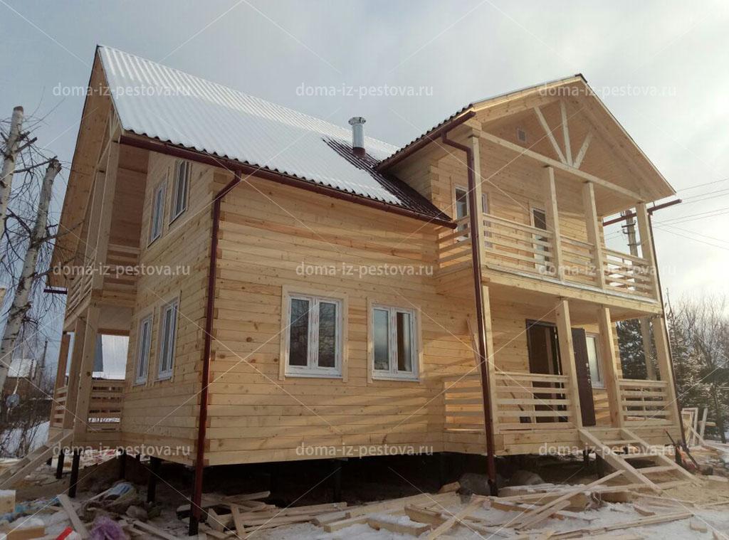 строительство дома в деревне